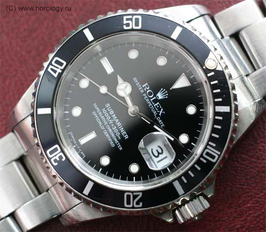 Ремонт часов Rolex Submariner. Калибр 3135